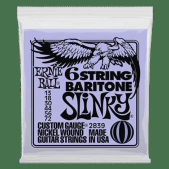 Ernie Ball 6 String Baratone Slinky (13-72)