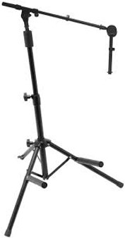 On Stage Amp Mic Stand Combo