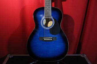 Jay Turser JJ43-BLSB 3/4 Size Acoustic Guitar