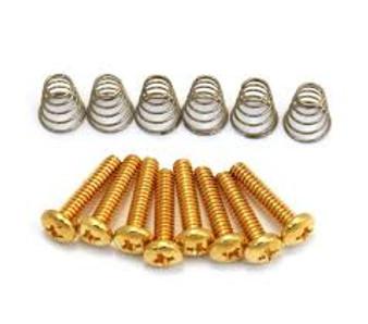 GS 0007 002 Pickup Screws (Gold)