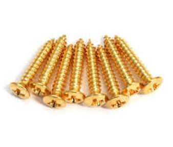 GS 3397 002 Humbucking Ring Screws (Gold)