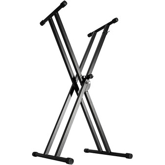 On Stage Double X Braced Keyboard Stand KS7191