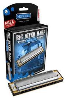 Hohner Big River Harp MS-SERIES Key G