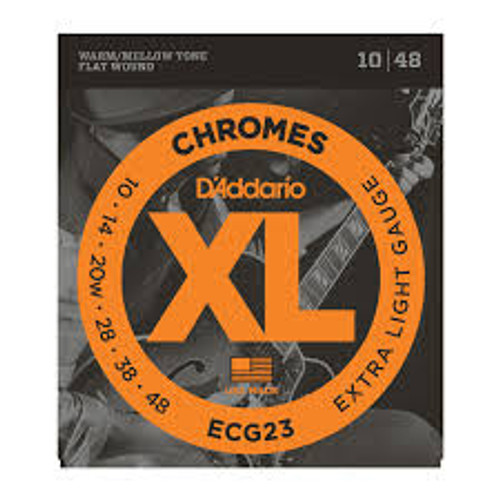 Daddario Chromes ECG23 Extra Light (10-48)