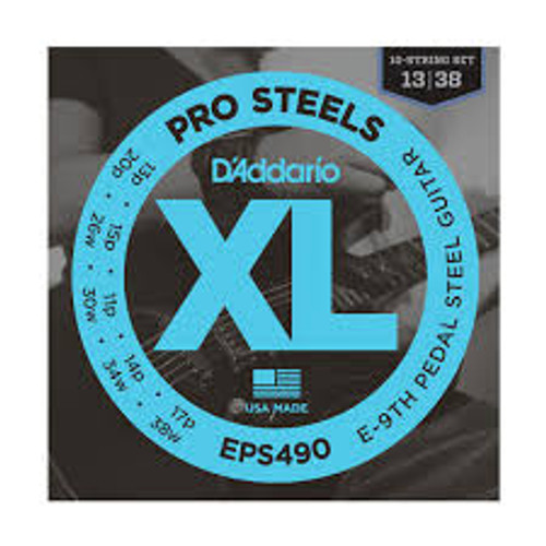 Daddario Pro Steels Eps490 E9th