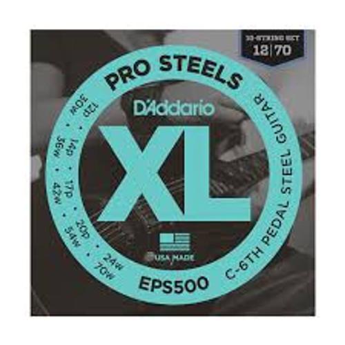 Daddario Pro Steels Eps500 C6th