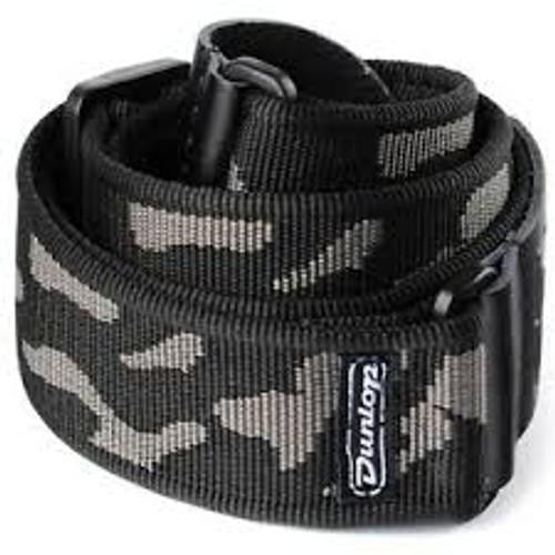 Dunlop Grey Cammo Strap