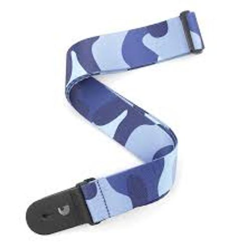 Daddario 2in Camo Blue Strap P20w1404