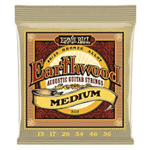 Ernie Ball Earthwood Medium 13-56
