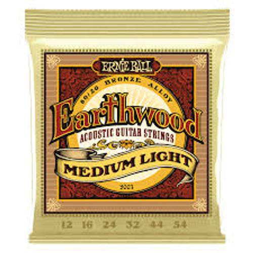 Ernie Ball Earthwood Medium Light 12-54