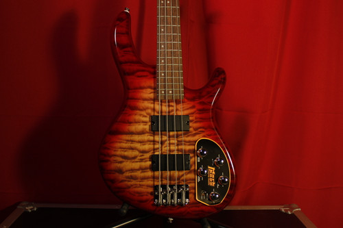 Cort Action DLX Plus Cherry Red Sunburst w/ Mark Bass MB-1 Pre-Amp