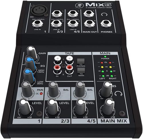 Mackie Mix 5 Compact Mixer