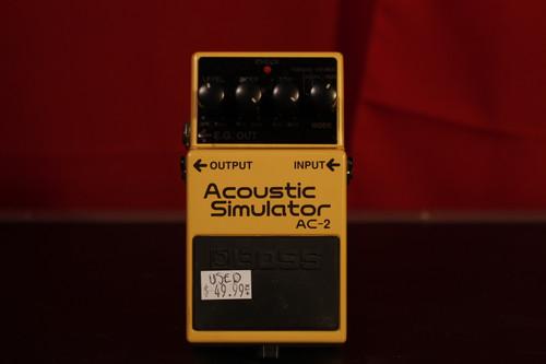 Boss AC-2 Acoustic Simulator (Used)
