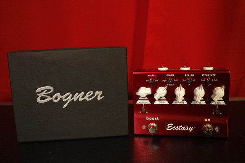 Bogner Ecstasy Ovedrive/Boost Red (Used)