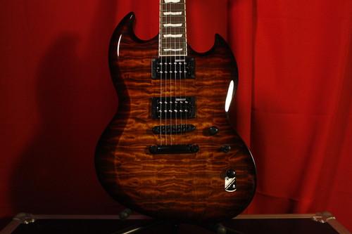 ESP LTD Viper 256 Dark Brown Sunburst