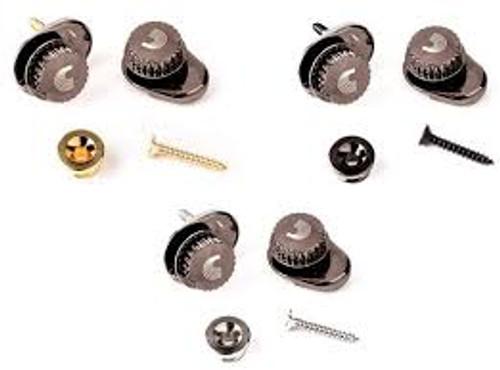Dunlop Black Strap Locks