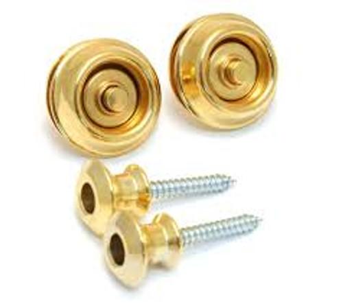 Dunlop Strap Locks Gold