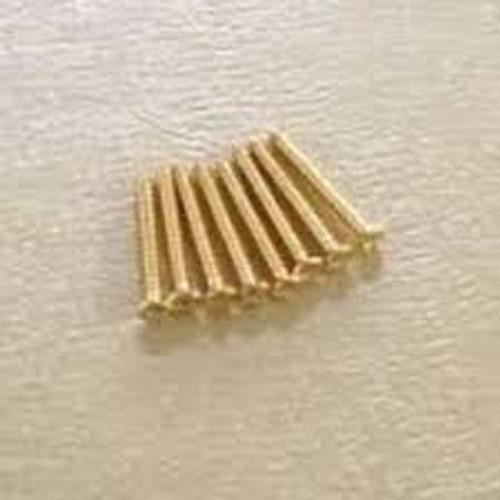 GS 0008 002 Humbucking Ring Screws (Gold)