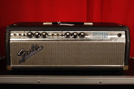 Vintage 1968 Fender Bassman Head  (Drip Edge)