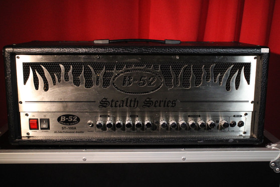 B-52 Stealth Series ST-100A Tube/Solid State Guitar Head (Used)