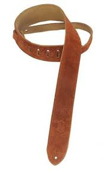 Levys MS12 Rust Suede Strap