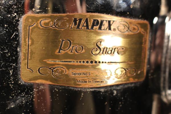 Mapex Pro Series Chrome Popcorn 10X5 Snare Drum (Used)