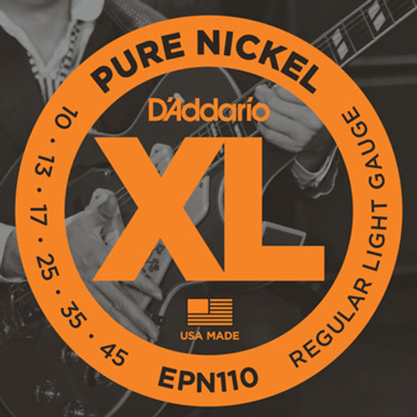 Daddario EPN 110 Pure Nickel Regular Light (10 45)
