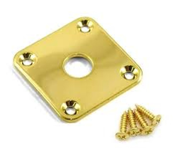 AP 0633 002 Jackplate for Les Paul (Gold)