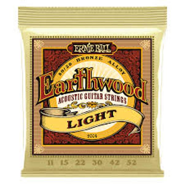 Ernie Ball Earthwood Light 11-52