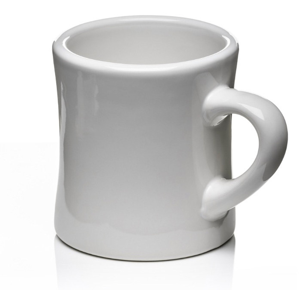 Classic Diner Mug (white)