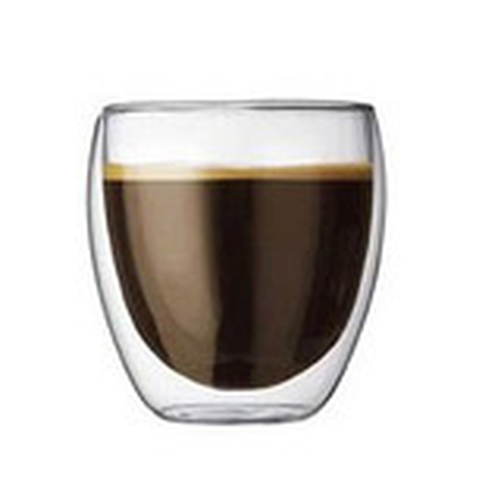 Bodum Pavina 9 oz Double Wall Thermo-glasses. Set of 2