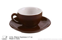 Dark Brown Espresso Cup