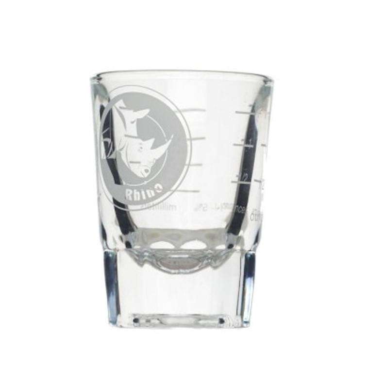 rhino shot glass