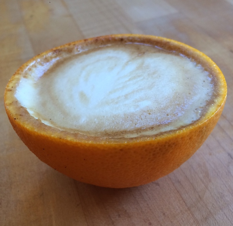 Orange You Thirsting For A Cappuccino?