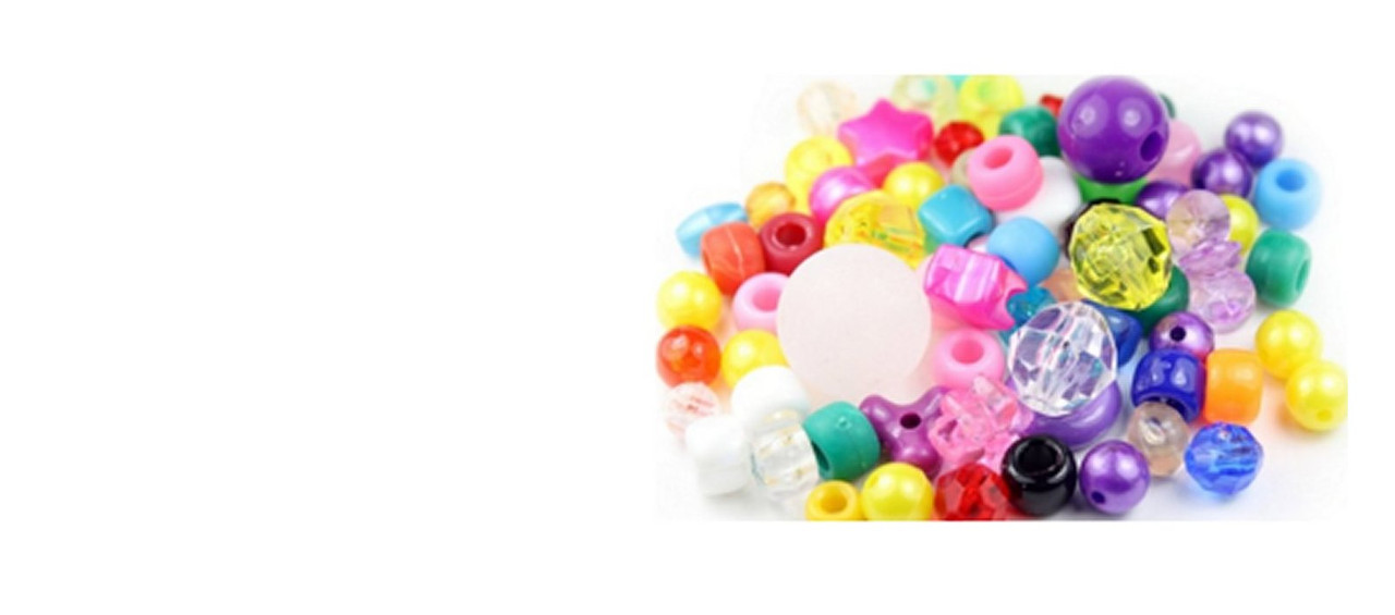 We offer a wide selection of beads including glass, gemstone, wooden, acrylic, metal and much more. Click here to browse them all or select from the catagories above