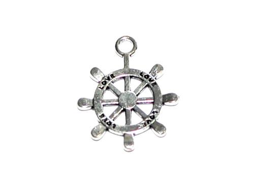 "Helm ""Love"" Ship Steering Wheel Charms"