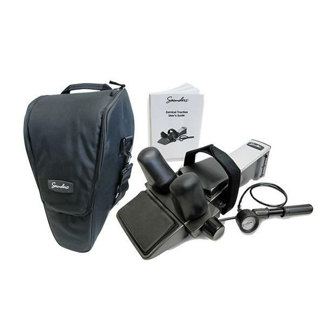 Saunders Cervical Traction Device With Case Free Shipping