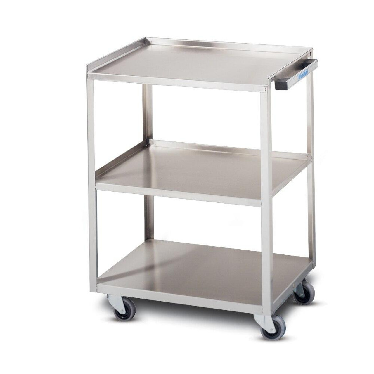 3 Shelf Stainless Steel Utility Cart Sourceortho Com
