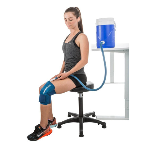 AirCast Cryo Cuff Gravity Cooler with Knee Wrap