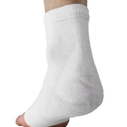 Comfortland Medical Comfort Gel Heel Sock-Pair