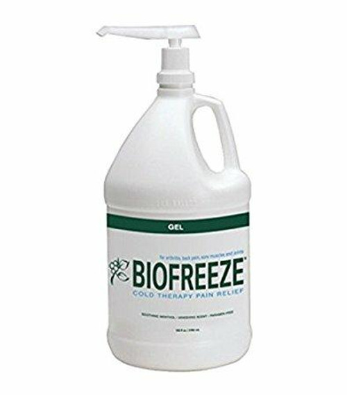 Hygenic Performance Health Biofreeze Pain Relieving Gel - Topical Analgesic - 1 Gallon size