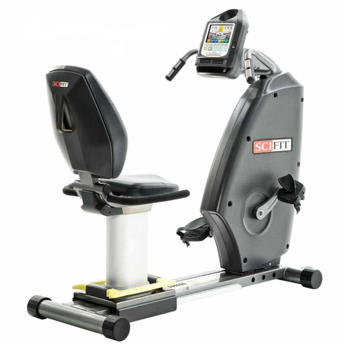 Scifit ISO Recumbent Bike, Forward only w/ swivel seat