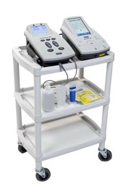 Fabrication Enterprises Mettler 73 Plastic 3-Shelf Cart