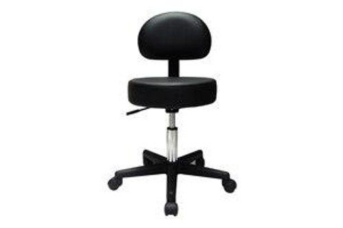 Dynatronics Dynatronic Pneumatic Stool with Back, 23 in - 27.5 in