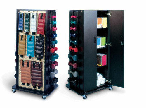 Hausmann Multi Purpose Weight Storage Rack