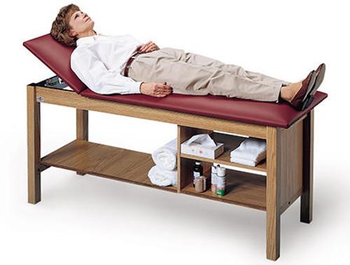 Hausmann H-Brace Adjustable Treatment Table w/ Storage
