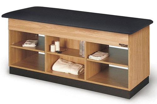 ProTeam Trainers Table with Open Shelf Storage