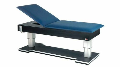 Hausmann Bariatric Hi-Lo Treatment Table w/ Power Backrest