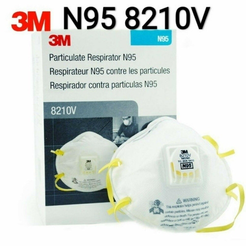 3M 3M N95 Disposable Respirator Model 8210V NIOSH Approved