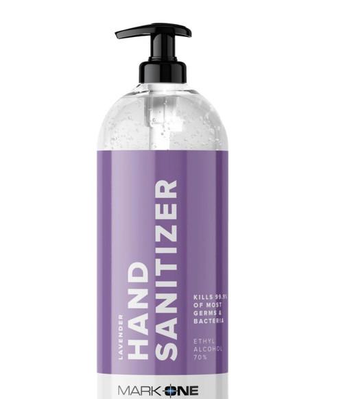 MarkOne Hand Sanitizer Gel w/Pump 70percent Ethyl Alcohol
